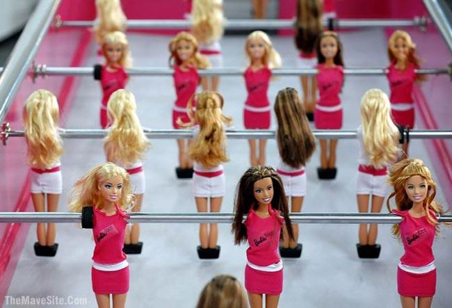 In pictures and tagged barbie football on june 10 2009 by mave